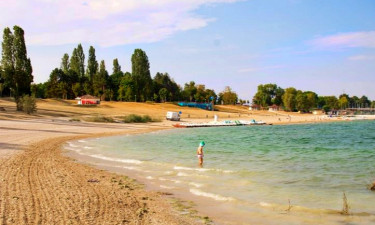 Strand Camping Lac d'Orient in Nord-Ost Frankreich