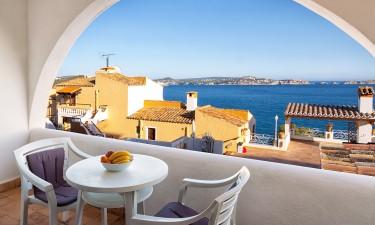 Luksuriøse ferielejligheder med havudsigt