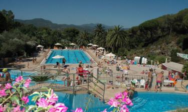 Pool Camping Rosselba le Palme auf Elba