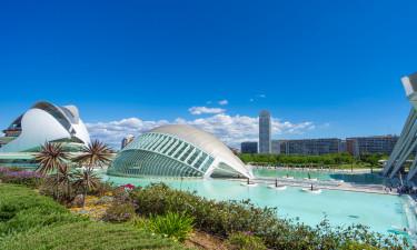 Besøg charmerende Valencia