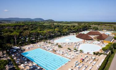 Stort poolområde og aktiviteter for hele familien
