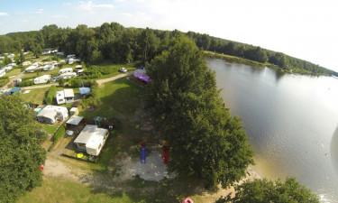 Camping for familien tæt på Danmark