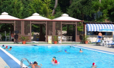 Pool Camping Village Internazionale San Menaio in Apulien