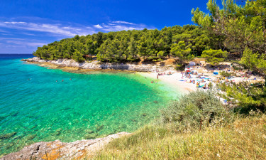 Få strandferie og campingferie i Kroatien