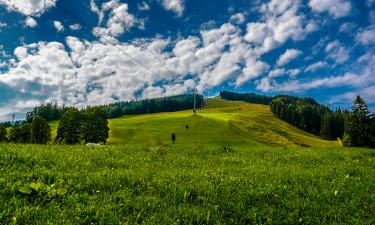 Najlepsze regiony na camping w Austrii - okolice Salzburga