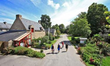 Campingferie på Chateau de Galinee?